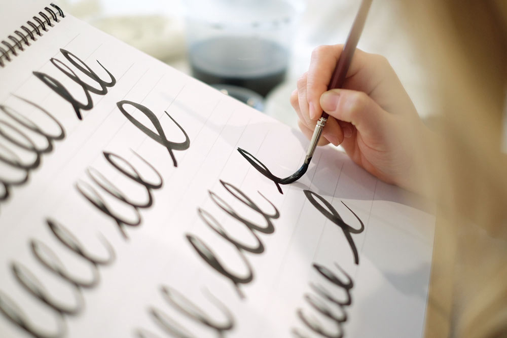 Lettering Student